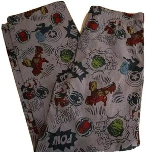 Marvel Lounge Pants Men's S XLarge New w/o Tags
